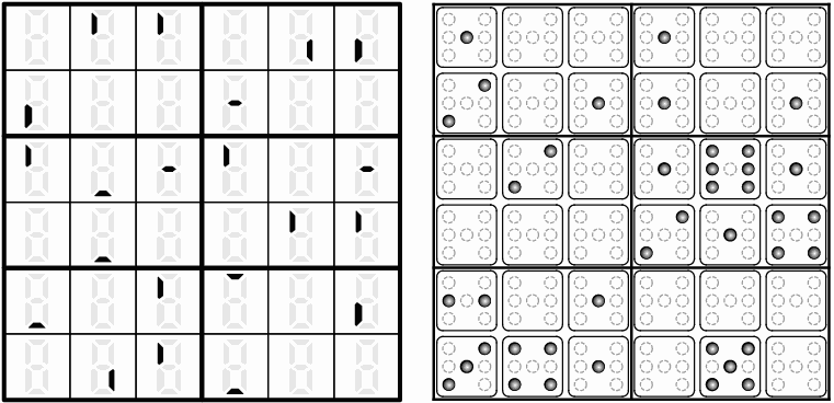 Figure 13. Digit Place by Cihan Altay, 2005 USPC. Pips Number Place (Puzzler 1999-04)